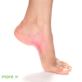 Are not pain at the bottom of the foot