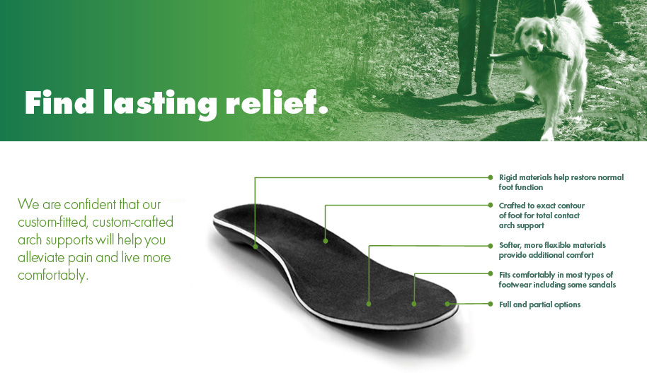 Arch Support - Foot Arch Pain