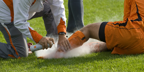 Anklle Injury Soccer