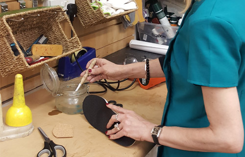 What goes on in a Foot Solutions Workshop?