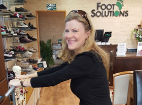 Why Online Shopping can't work for Foot Solutions Customers!
