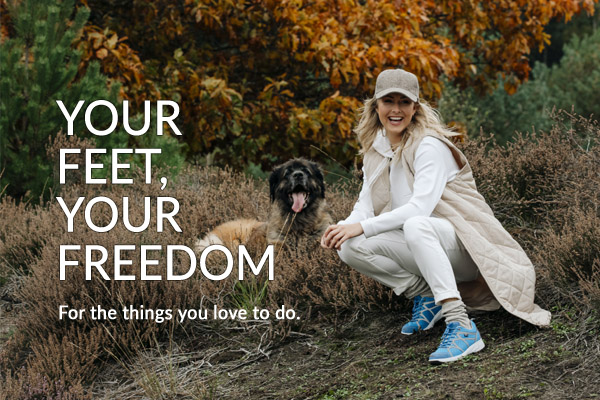 Your Feet, Your Freedom – The Benefits of Movement